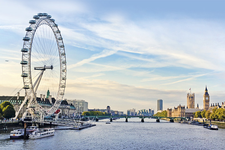 Schulfahrt England: Programm in London - London Eye