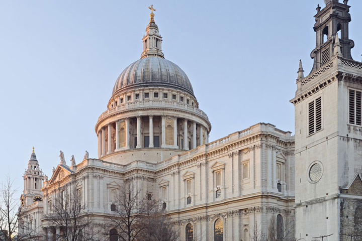 Schulfahrt England: Programm in London - St. Paul's Cathedral