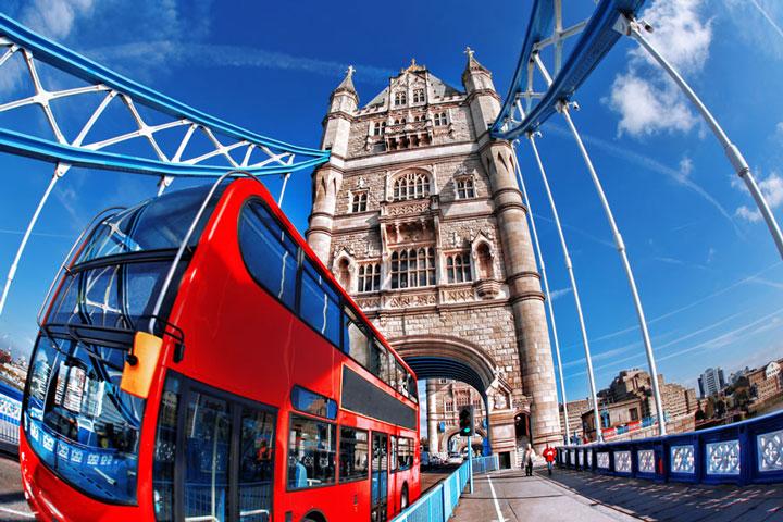 Schulfahrt England: Programm in London - Stadtrundfahrt