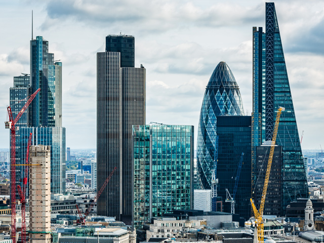 London Berufsschulen: Wolkenkratzer