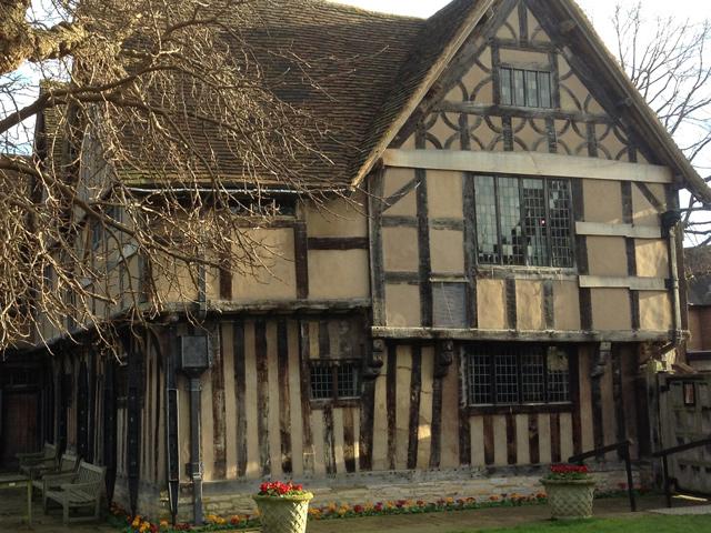 Ausflug Stratford: Hall's Croft