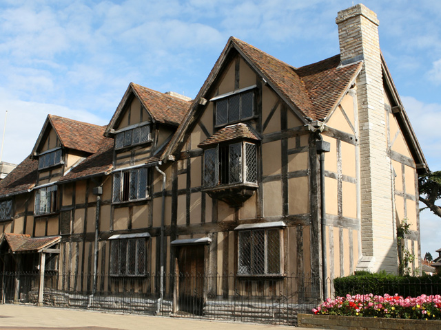 Ausflug nach Stratford: Shakespeare's Birthplace
