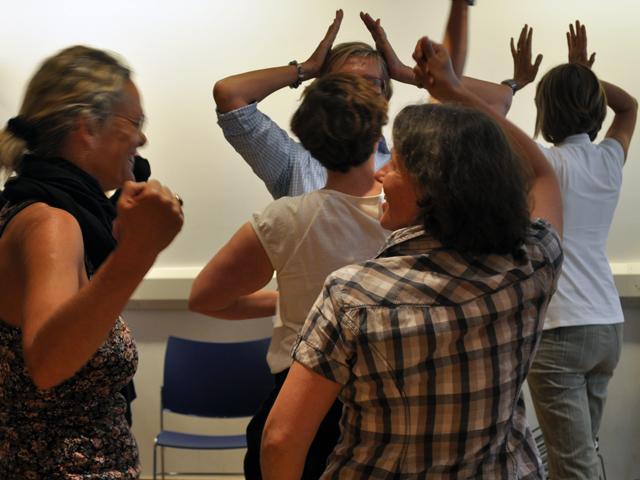 Shakespeare-Fortbildung für Englischlehrer in London: Workshop im Globe Theatre