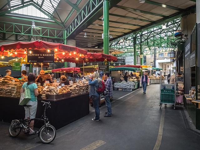 London Berufsschulen - Berufsfeld Gesundheit: Borough Market