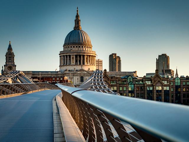 London Berufsschulen - Berufsfeld Kunst und Musik: St. Paul's