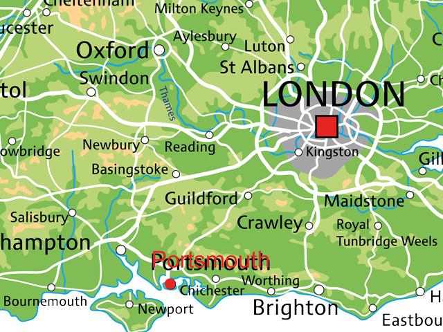 Schulfahrt England: Ausflug nach Portsmouth