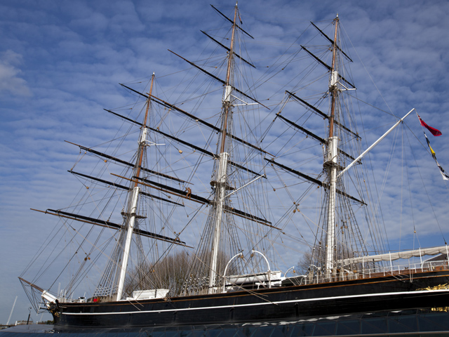 Sprachferien in London: Cutty Sark