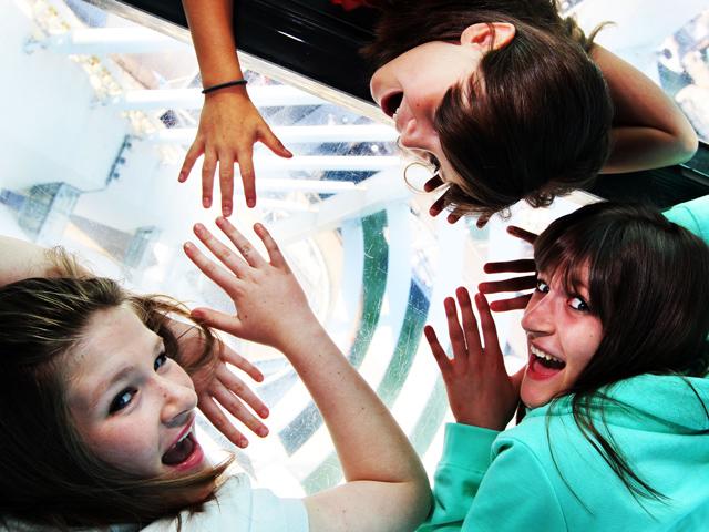Schulfahrt nach England: Mutprobe in Portsmouth auf dem Spinnaker Tower