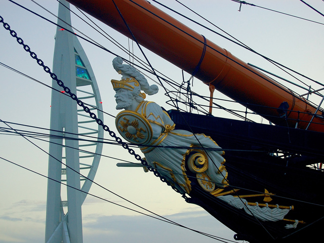 Ausflug nach Portsmouth: HMS Warrior und Spinnaker Tower