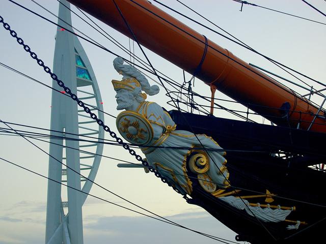 Ausflug nach Portsmouth: HMS Warrior und Spinnaker Tower