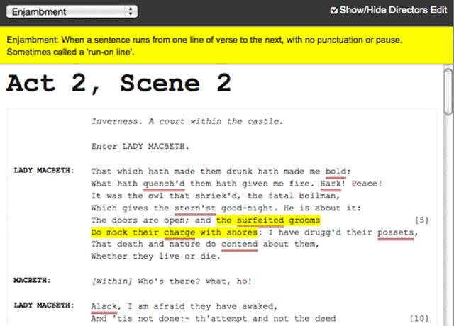 Script Machine: Macbeth