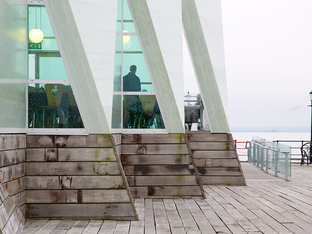 Schulfahrt nach England: Pier Museum in Southend