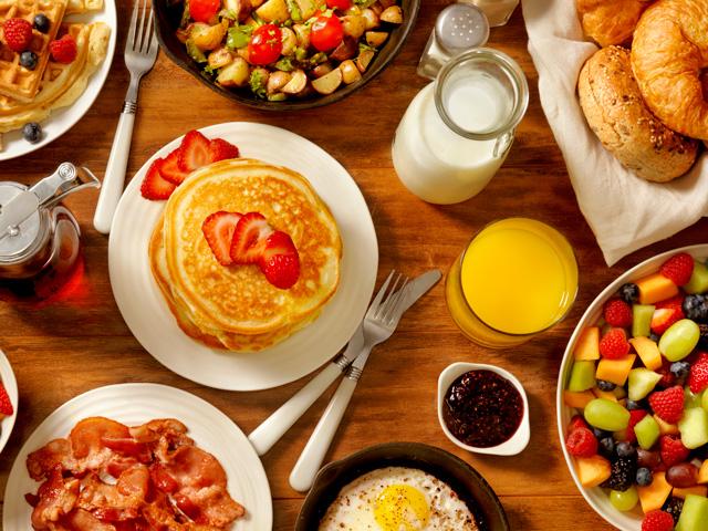 Sprachferien in London: Frühstück im Hostel Via Lewisham