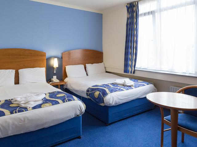 Unterbringung in London: Quality Hotel Wembley
