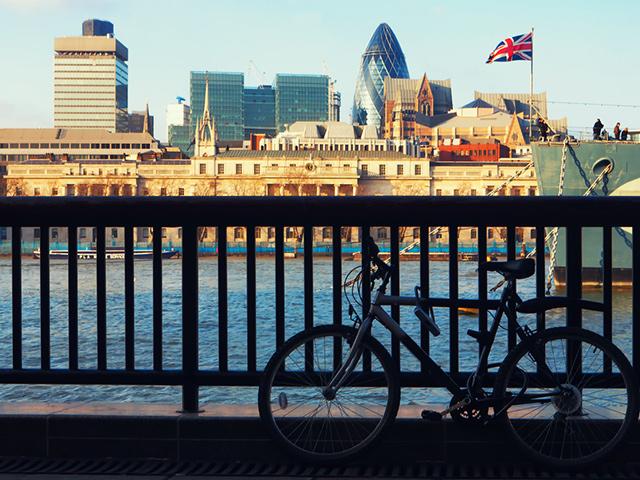 London Berufsschulen - Berufsfeld Gesundheit: Radfahren in London