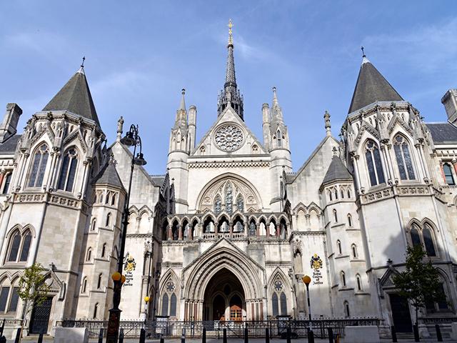 London Berufsschulen - Berufsfeld Wirtschaft: Royal Courts of Justice